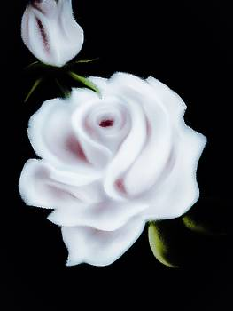 Snowflake Rose by Michele Koutris