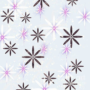 Snowflakes and Dancing Daisy  by Lady Ex
