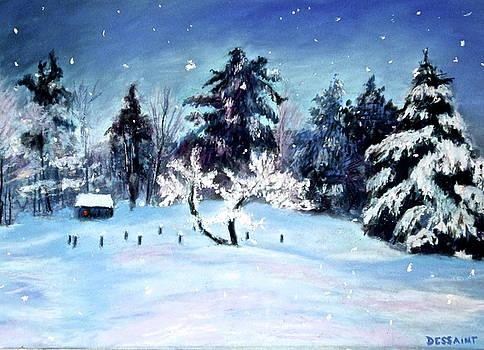 Snowflakes by Linda Dessaint