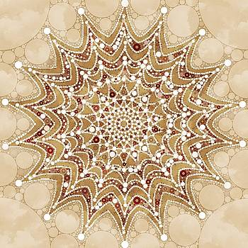Snowflakes Mandala Design by Gabriella Weninger - David
