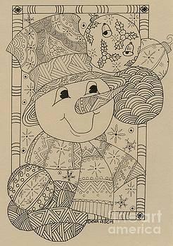 Snowman by Eva Ason