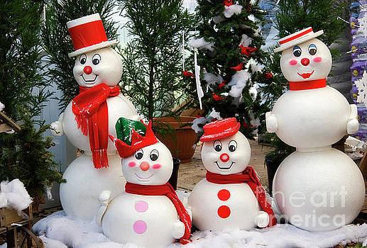 Jill Lang - Snowman Family