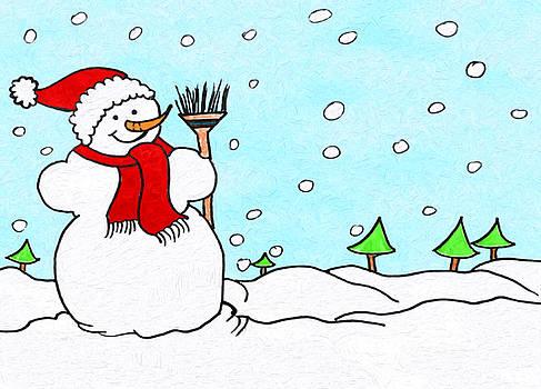 Snowman Fun by Daphne Sampson