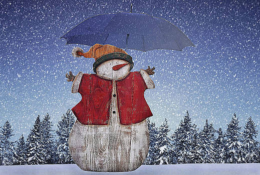 Snowman by Manfred Lutzius