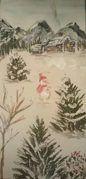 Snowman Mountain by Lee Green