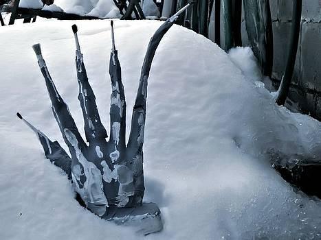 Snowman by Rudolf Sechovec