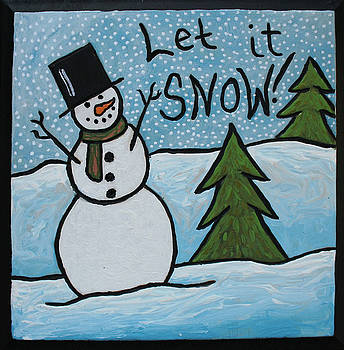 Snowman Series by Amy Parker
