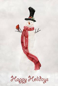 Snowman Xmas II by Lynn Jackson