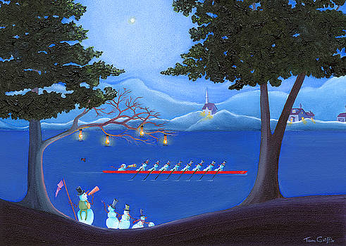 Snowmen Rowing by Thomas Griffin