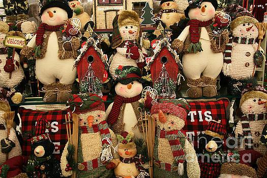 Snowmen, Snowmen, Snowmen by Lynn Jackson