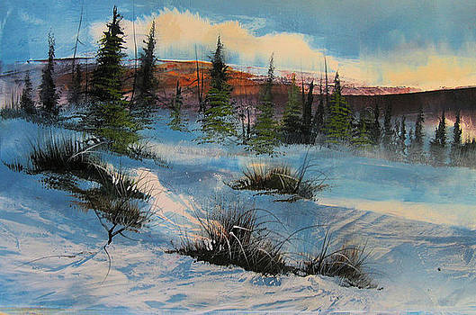 Snowscape by Robert Carver