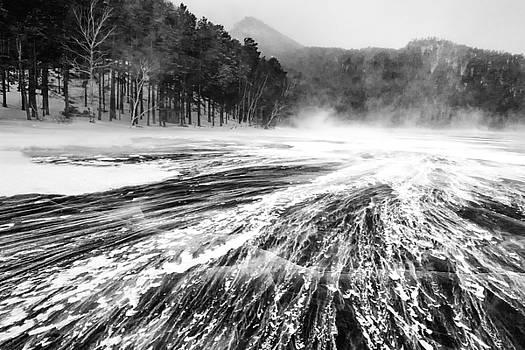 Snowstorm by Hayato Matsumoto