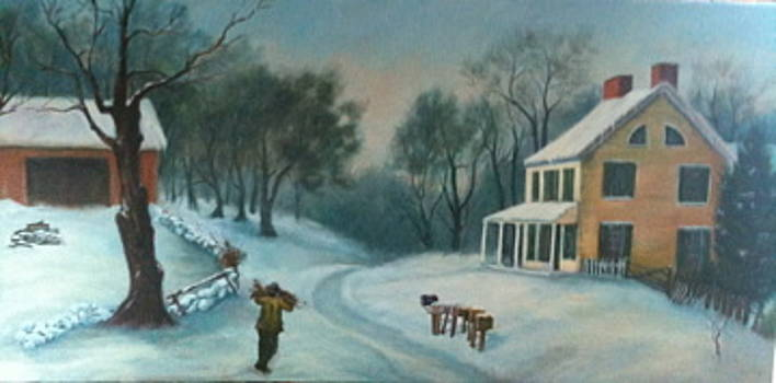 Snowy Afternoon by Cynthia Vowell