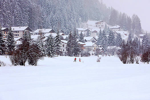 Art Block Collections - Snowy Alpine Village
