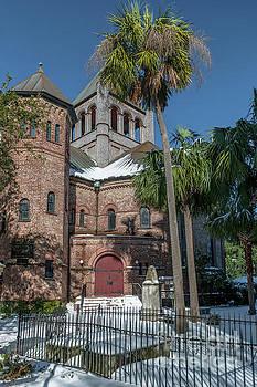 Snowy Circular Church by Dale Powell