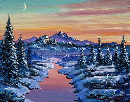David Lloyd Glover - Snowy Creek