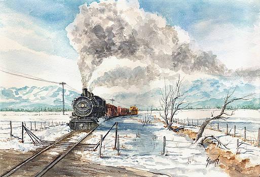 Sam Sidders - Snowy Crossing