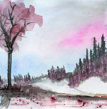 Snowy Daybreak by R Kyllo
