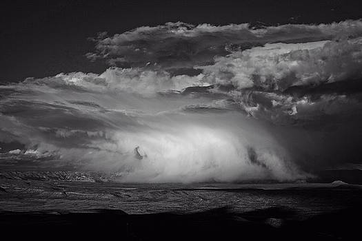 Snowy Mix Storm over the Verde Valley by Ron Chilston