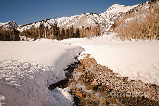 John Daly - Snowy Mountain Stream