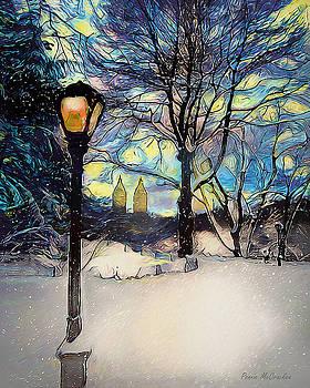 Snowy Night in New York by Pennie McCracken