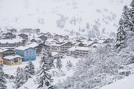 Snowy Resorts by Travel and Destinations - By Mike Clegg