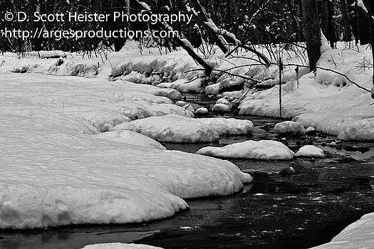 Snowy Stream by Scott Heister