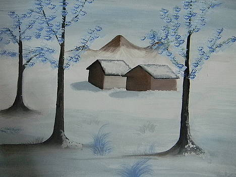 Snowy Weather by Archana Devarasetty