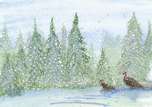 Snowy Wilderness by Victor Vosen