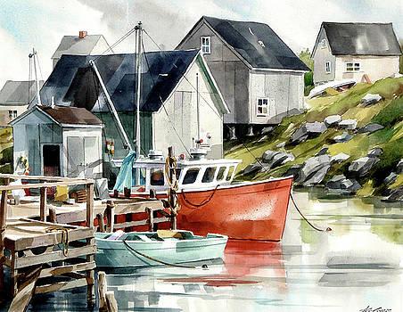 Snug Harbor by Art Scholz
