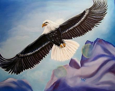 Soaring Eagle by Kathern Welsh