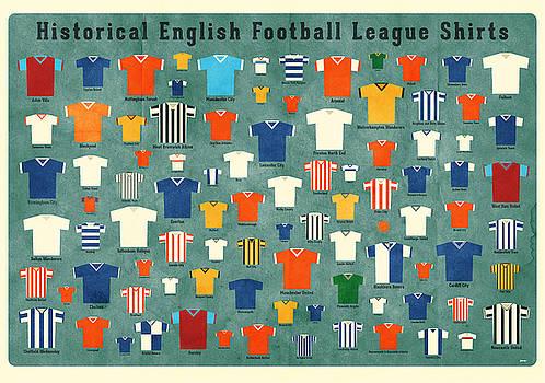 Soccer shirts by Daviz Industries