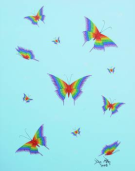 Social Butterflies by Doug Miller