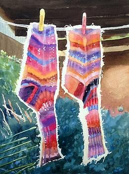 Socks by Katie Cornog