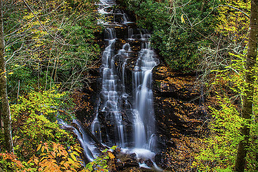 Soco Falls by Blue Ridge Mountain Life