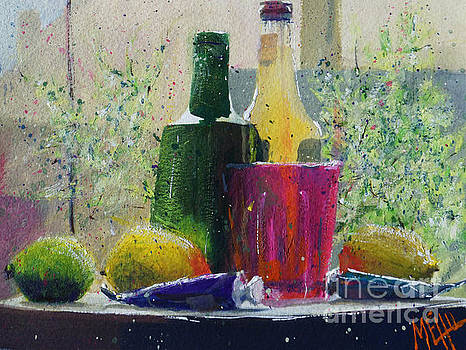 Soda and lemons #1 by Andre MEHU