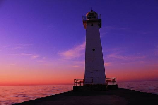Sodus Point Ny Lighthouse  by Jaime Malave