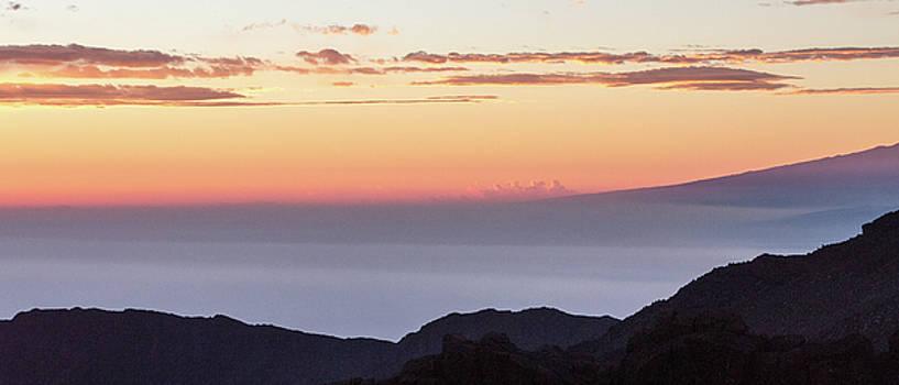 Soft Clouds on Haleakala by Nadine Berg