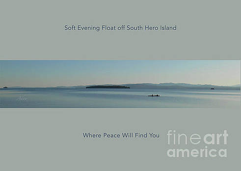 Felipe Adan Lerma - Soft Evening Float Off South Hero Island Horizon Line Poster