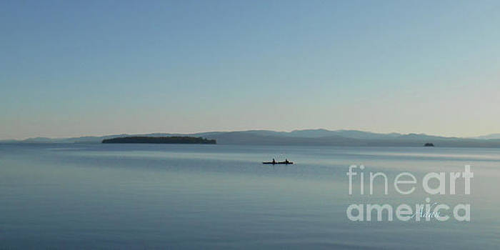 Felipe Adan Lerma - Soft Evening Float off South Hero Island Panorama