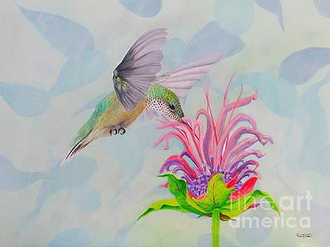 Soft Hummingbird by Richard Dotson