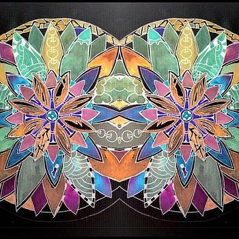 Soft Mandala by Sandra Lira