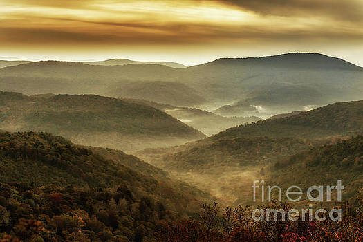 Soft Morning in the Mountains by Thomas R Fletcher