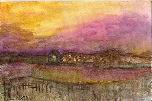Soft Sunset by Denise Marie Johnson