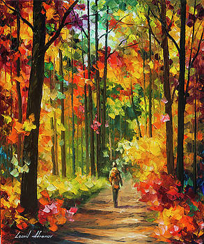 Soild Fall  by Leonid Afremov