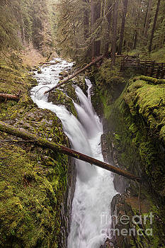 Sol Duc Falls in Olympic National Park Washington by Brandon Alms