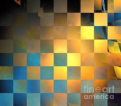 Solar Checkers by Kim Sy Ok