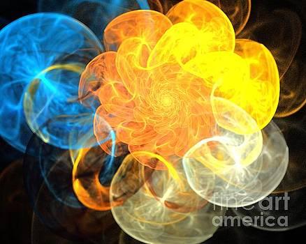 Solar Cloud Spiral by Kim Sy Ok