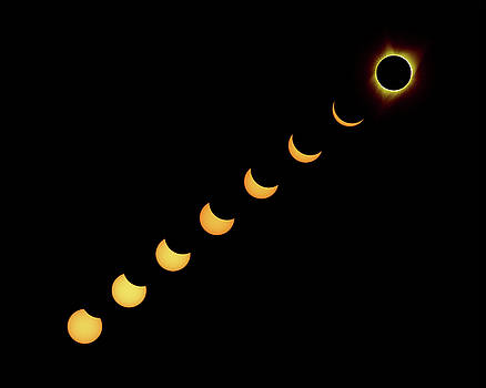 Max Waugh - Solar Eclipse Composite Gold