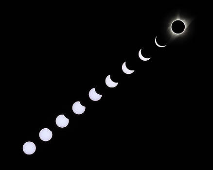Max Waugh - Solar Eclipse Composite White